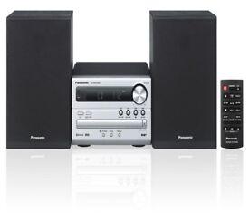 PANASONIC SC-PM250BEBS Wireless Traditional Hi-Fi System Silver *BRAND NEW SEALED*