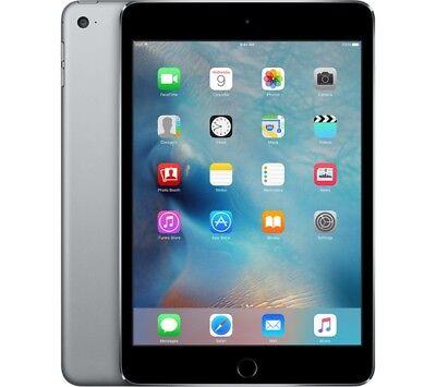 Apple iPad Mini 4 128GB WiFi Retina Tablet PC Kamera Space Grey NEU OVP