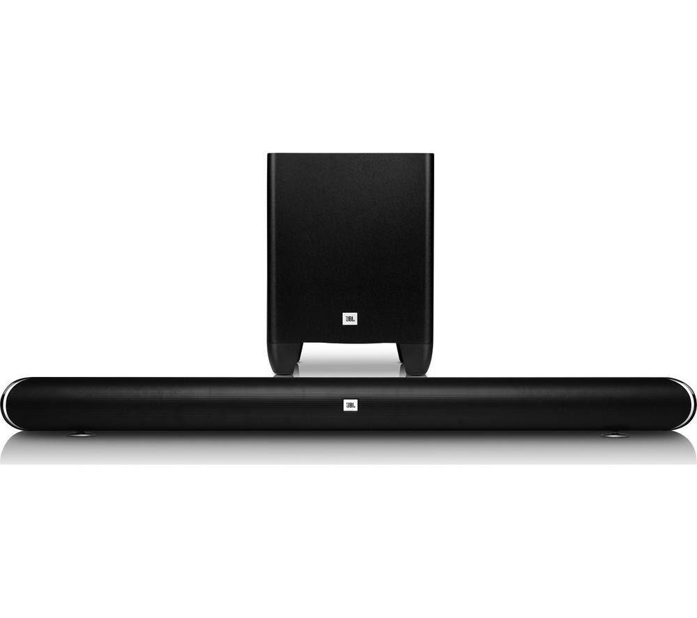 New JBL Cinema SB 350 2.1 Wireless Sound Bar Black Was: £249.99