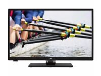 """24"""" JVC LED Smart HD TV LT-24C660 with remote and instruction manual"""
