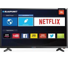 "BLAUPUNKT 40"" Smart LED TV with box"