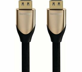SANDSTROM S2HDM315 HDMI Cable with Ethernet - 2 m -- **RRP £89**