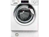 HOOVER HBWD 8514TAHC Integrated 8 kg Washer Dryer - White SALE!