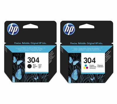 HP Combo 304 Tri-colour & Black Ink Cartridges - Twin Pack - Currys