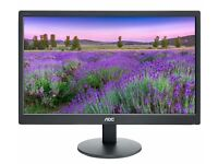 """Selling 2 AOC e2070Swn 19.5"""" LED Monitors (Can be sold individually)"""