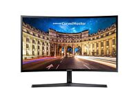 "BRAND NEW - SAMSUNG C24F396 Full HD 24"" Curved LED Monitor - COST £149.99 - ACCEPT £115"