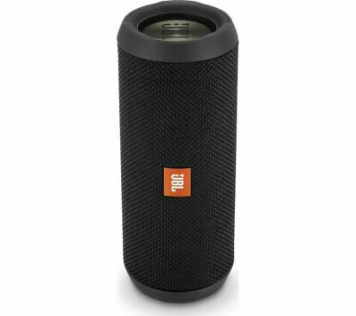 JBL Flip 3 Stealth Portable Bluetooth Speaker - Black - Currys