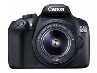 CANON 1300D Wifi NFC DSLR Camera with 18-55 mm f/3.5-f/5.6 LENS BRAND NEW IN BOX