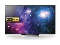 "SONY BRAVIA KD55XD8599BU Smart 4k Ultra HD HDR 55"" LED TV Black"