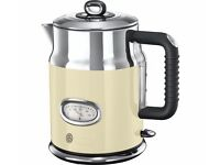 Russel Hobbs Retro Vintage Cream Kettle & Toaster Brand New Boxed