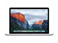 "New APPLE Macbook PRO 15"" With Retina Display (2015) 16GB 256GB Was: £1599.99"