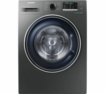 SAMSUNG ecobubble WW80J5555FX/EU 8 kg 1400 Spin Washing Machine Graphite Currys