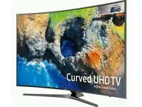 "SAMSUNG UE55MU6670U CURVED SMART 4K UHD HDR 55"" FREESAT HD WIFI BLUETOOTH LED TV"