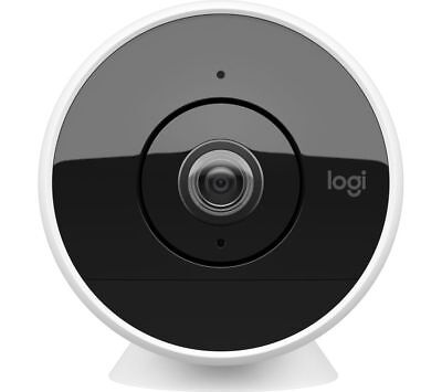 - Logitech CIRCLE 2 Wire-Free Indoor/Outdoor Security Camera + Battery NO STAND