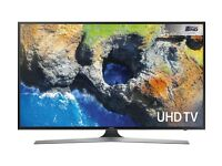 "Samsung 40"" uhd led tv 4K brand new in box with remote and stand"