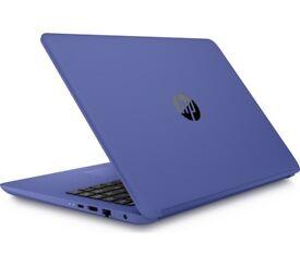 Hp Laptop marine blue