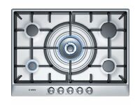 New BOSCH PCQ715B90E Gas Hob Brushed Steel Was: £339.99