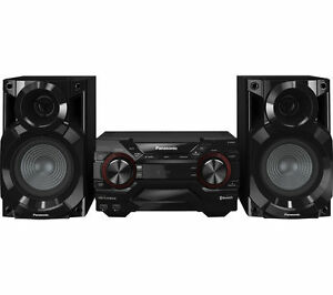 PANASONIC SC-AKX200E-K Wireless Megasound Hi-Fi System - Black - Currys