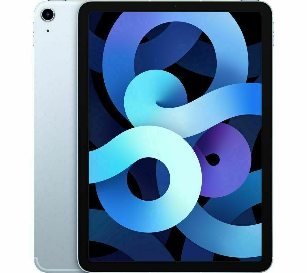 """NUEVO Apple iPad 2020 Air de cuarta generación.  64 GB, Wi-Fi, 10,9"""" - Cielo azul"""