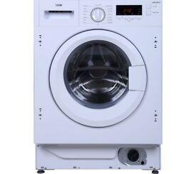 EX-DISPLAY LOGIK 8 KG 1400 SPIN A+++ INTEGRATED WASHING MACHINE REF: 31470