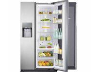 NEW SAMSUNG Food ShowCase RH56J6917SL American-Style Fridge Freezer - Steel