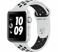 APPLE Watch Nike+ Series 3 - Silver, 42 mm