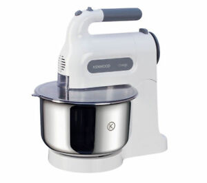 KENWOOD Chefette HM680 Hand Mixer with Bowl - White & Grey - Currys