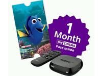 Nowtv box 1 month movie pass inc