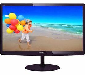 "PHILIPS Full HD 21.5"" LED Monitor"