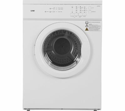 LOGIK LVD7W18 7 kg Vented Tumble Dryer - White - Currys