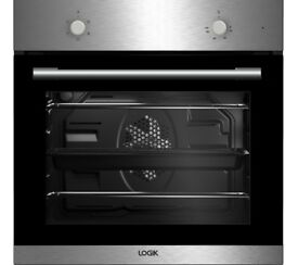 LOGIK LBFANX16 Electric Oven - Stainless Steel EX DISPLAY /1