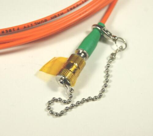 OZ Optics Fiber optic cable 400/440 micron IR-VIS high power 5 meter SMA