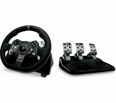 Logitech G920 Driving Force Racing Wheel and Floor Pedals- Xbox One/PC/Mac Black