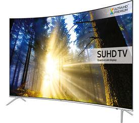 "Samsung KS7500 43"" 7 Series Curved SUHD QUANTUM DOT Smart LED TV"