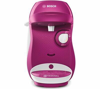TASSIMO by Bosch Happy TAS1001GB Coffee Machine - Purple & White - Currys