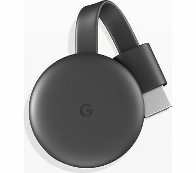 GOOGLE Chromecast Third Generation Charcoal - Currys