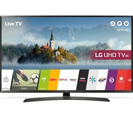 "LG 55UJ634V 55"" Smart 4K Ultra HD HDR LED TV"