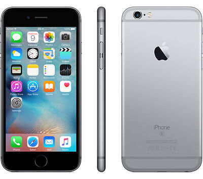 New Apple iPhone 6S 16GB AT&T Locked Space Gray Smartphone