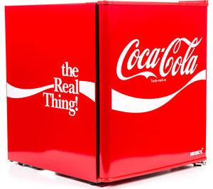 HUSKY Coca Cola HUS-EL207-HU Mini Fridge - Red - Currys