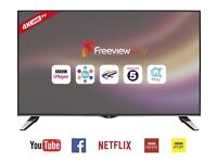 JVC 40 inch 4k Ultra HD Smart LED TV with Freeview Play
