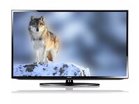 """Samsung 46"""" inch HD LED Ultra Slim TV Full 1080p with Freeview HD + USB Media Player + Boxed"""