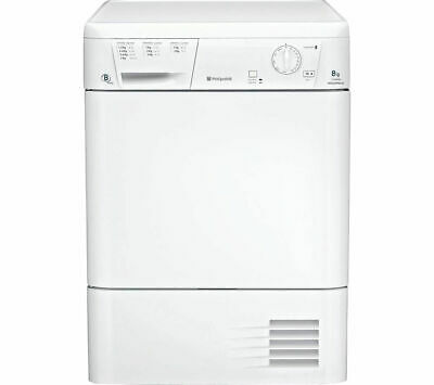HOTPOINT Aquarius TCM580BP Condenser Tumble Dryer - White - Currys