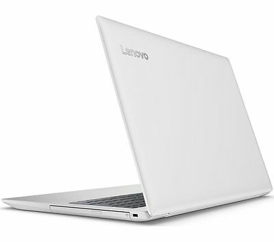 "Lenovo Ideapad 320-15iap 15.6"" Laptop Blizzard White"