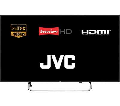 "JVC LT-40C590 40"" LED TV Full HD 1080p With DTS TruSurround & Freeview HD"