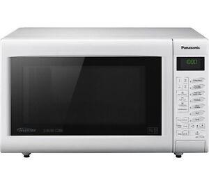 Panasonic Slimline Combination NN-CT555 27L Microwave Oven NNCT555WBPQ NNCT555