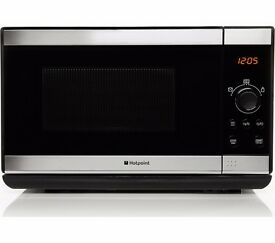 New Boxed HOTPOINT MWH2021XUK Solo Microwave Stainless Steel Was: £99.99