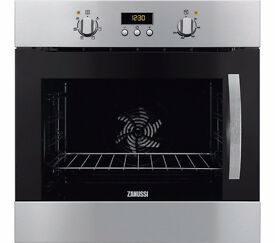New Boxed ZANUSSI ZOA35525XK Electric Oven Stainless Steel Multifunction 72L Was: £349.99