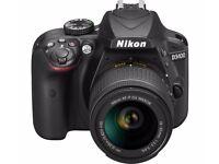 NIKON D3400 DSLR Camera with 18-55 mm f/3.5-5.6 Lens - Black