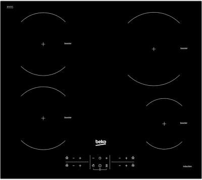 New BEKO HXI64200AT Electric Induction Hob - Black