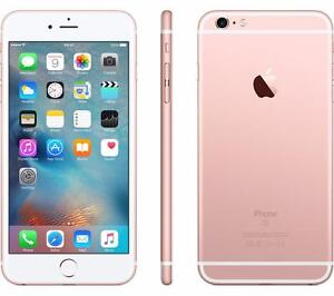 iPhone 6s Plus 16GB Rose Gold UNLOCKED MINT 10/10 /w WARRANTY (June 23, 2017) original box, charger, & case $575 FIRM